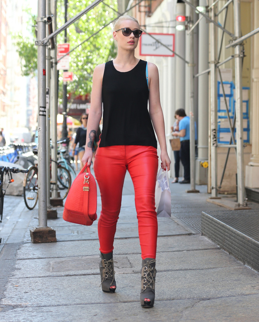 Red Leather Pants: Who Does it Best?