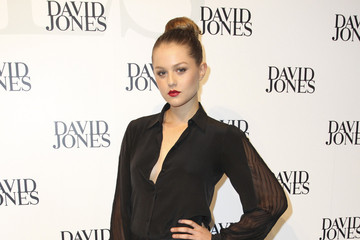 Isabel Cornish Gracie Otto at the David Jones Spring/Summer 2013 Collection Launch