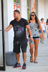 Sammi Giancola  Ronnie Ortiz-Magro Ronnie and Sammi Out and About