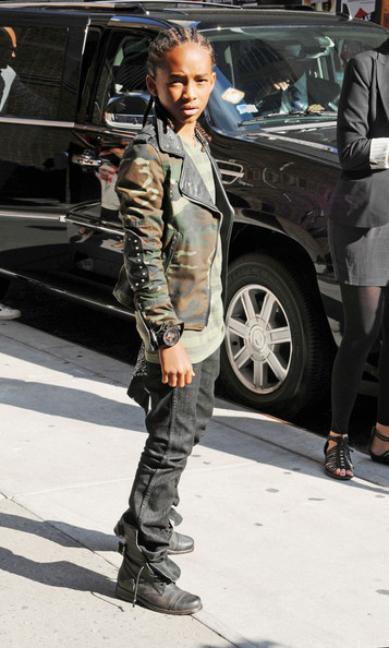 will smith son jaden smith. Jaden Smith at the quot;Late Show