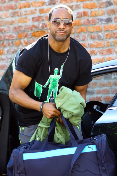Jaleel White heading to the Jaleel White Muscles
