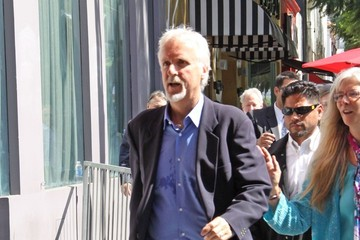 James Cameron Celebs at the Walk of Fame
