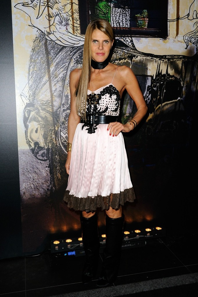 anna dello russo photos photos the givenchy party at l 39 arc club during paris fashion week zimbio. Black Bedroom Furniture Sets. Home Design Ideas