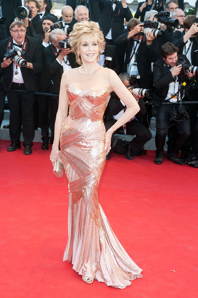 Jane Fonda - The Red Carpet at the Cannes Film Fest