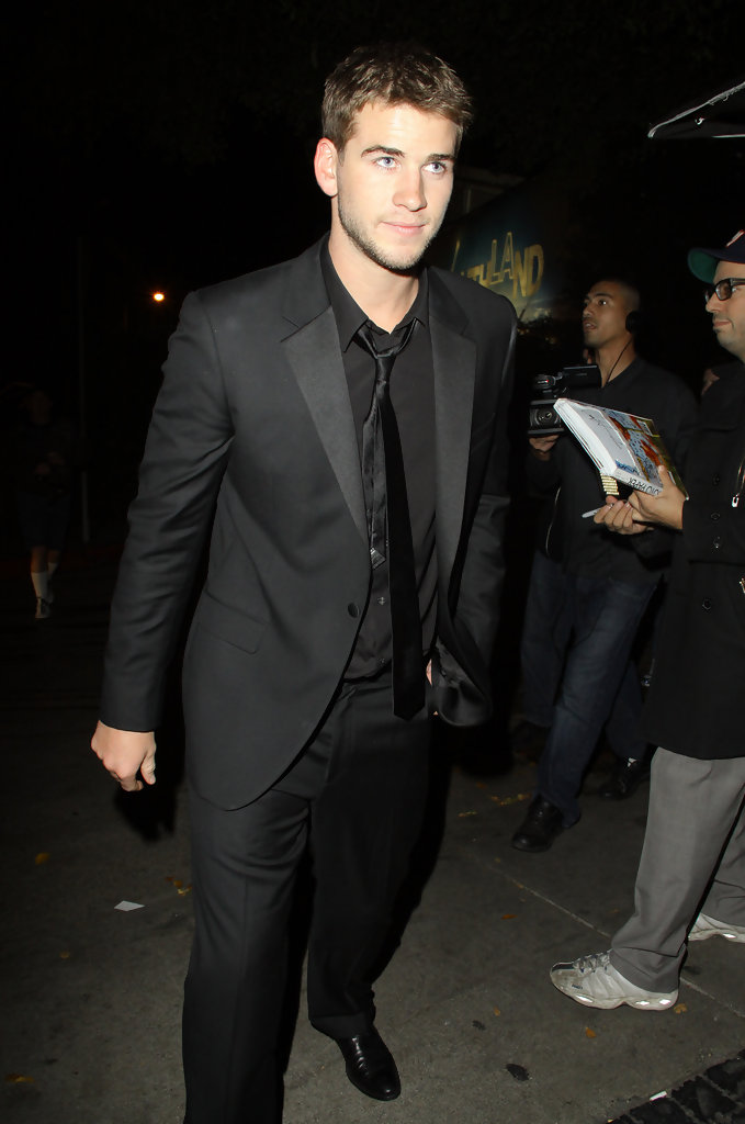 Liam Hemsworth in January Jones at Chateau Marmont - Zimbio Liam Hemsworth And January Jones