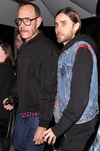 Photo of Terry Richardson & his friend  Jared Leto