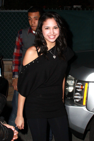 "Jasmine V Jasmine V - the girl from Justin Bieber's ""Baby"" video - at Hollywood's Siren Studios for blogger Perez Hilton's ""Blue"" birthday party. Hilton, real name Mario Armando Lavandeira Jr, turned 33 on Wednesday March 23."