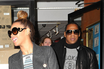 Jay-Z Beyonce Knowles Beyonce Knowles and Jay-Z Go Shopping