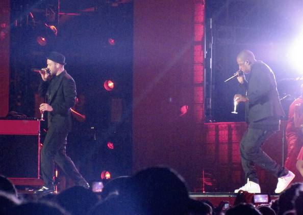 Justin Timberlake and Jay-Z Perform in Toronto