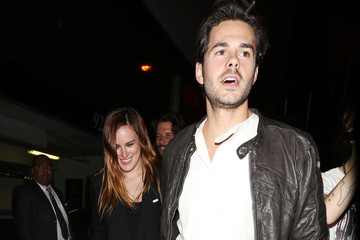 Jayson Blair  Rumer Willis and Jayson Blair at Bootsy Bellows