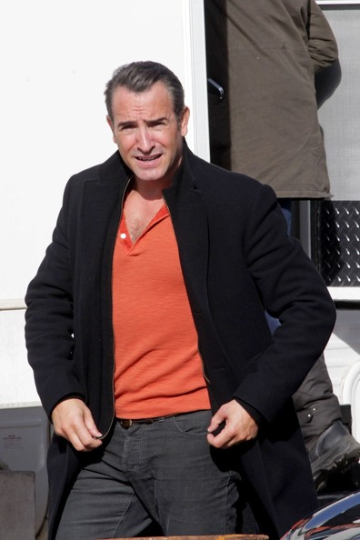 Jean dujardin pictures leonardo dicaprio on set in for Age dujardin