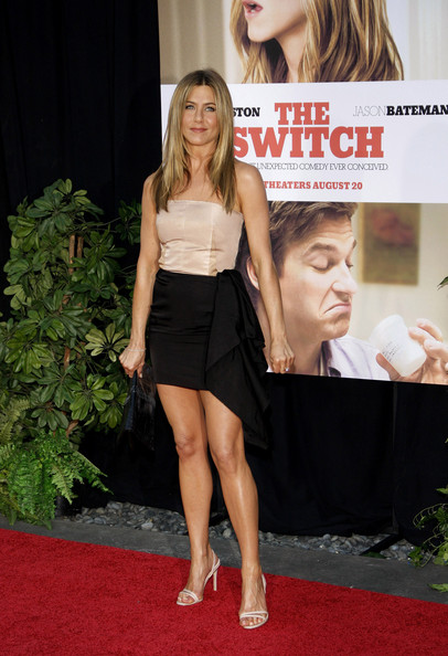 "Jennifer Aniston Jennifer Aniston at the Los Angeles premiere of her new film ""The Switch"", held at the ArcLight Cinemas."