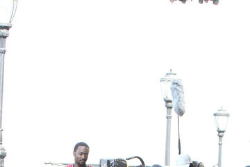 Jennifer Connelly Anthony Mackie Jennifer Connelly and Anthony Mackie Film in NYC —Part 2