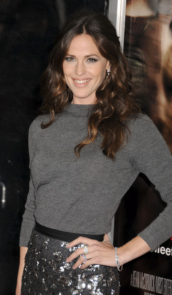 "Jennifer Garner at the New York premiere of ""Arthur"" held at the Ziegfeld Theatre."