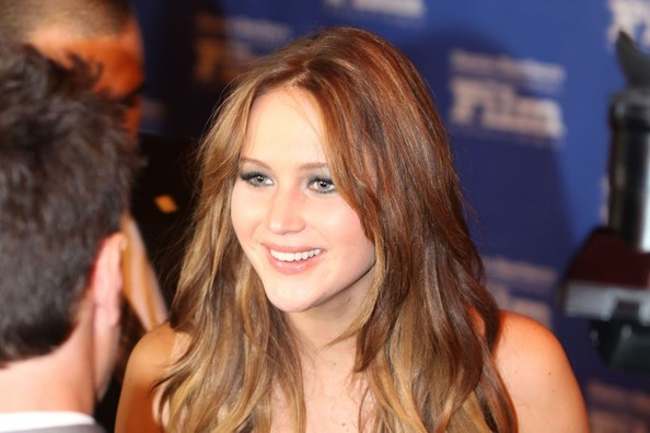 Jennifer Lawrence attends the Santa Barbara Film Festival at the Arlington Theater