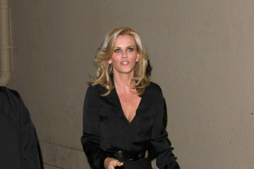 "Jenny McCarthy Jenny McCarthy Leaves ""Jimmy Kimmell Live"" in West Hollywood"