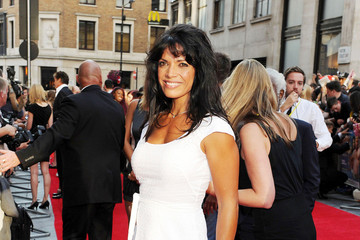 "Jenny Powell Billi Mucklow at the London red carpet premiere of ""Keith Lemon: The Film"""