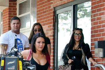 Nicole Polizzi Sammi Giancola The Cast of 'Jersey Shore' Out Together