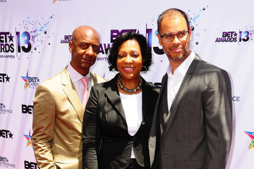 Jesse Collins Celebs at the BET Awards Press Conference — Part 2