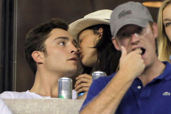 jessica szohr and ed westwick 2010. Jessica Szohr Ed Westwick and