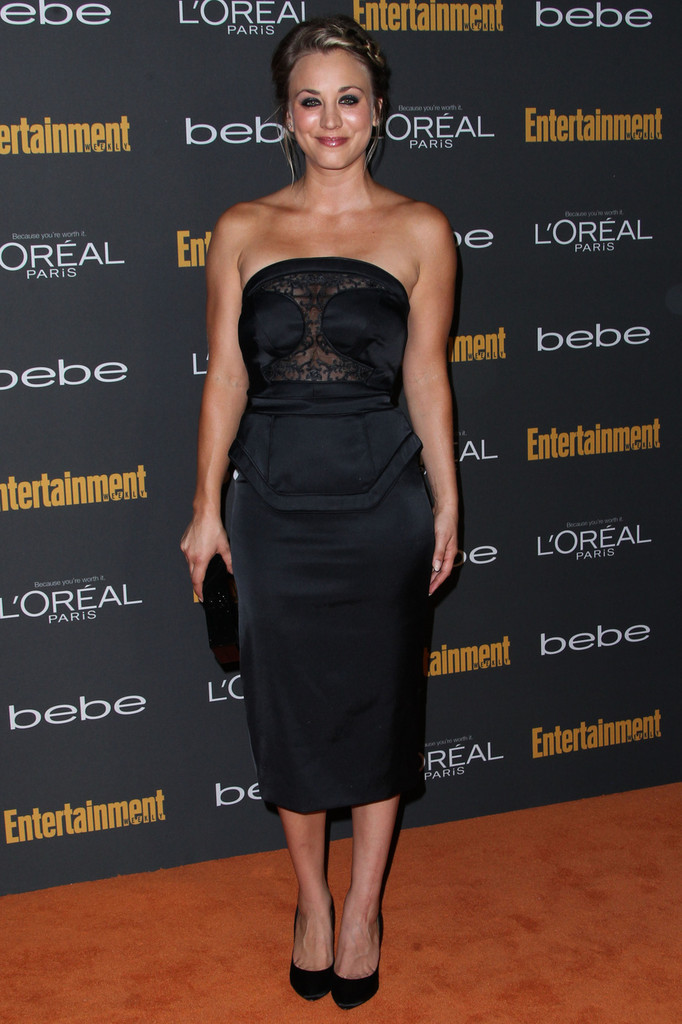 Kaley Cuoco attends Entertainment Weekly Pre-Emmy Party held at Fig & Olive Melrose Place in West Hollywood.