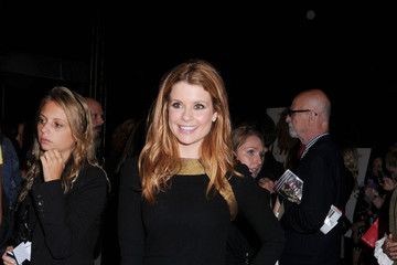 Joanna Garcia LeAnn Rimes and Eddie Cibrian at Fashion Week