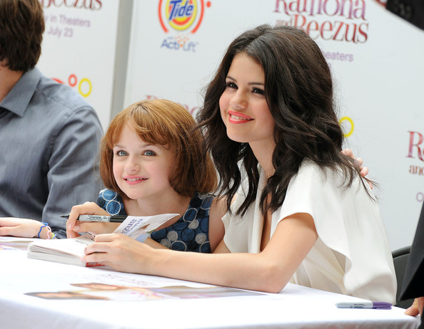 Selena Gomez Selena Gomez and Joey King promote their new movie