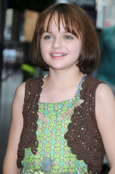 """Joey King Joey King, star of the new film """"Ramona and Beezus"""", poses for photographs as she arrives at her New York City hotel."""