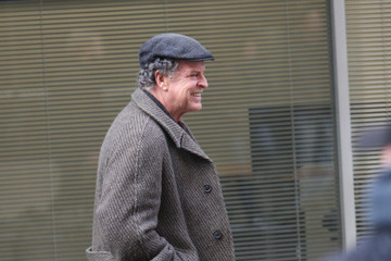 John Noble The Set of 'Fringe'