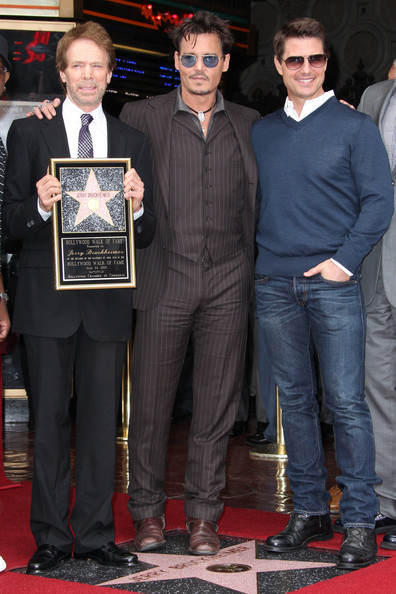 Jerry Bruckheimer Honored on the Walk of Fame