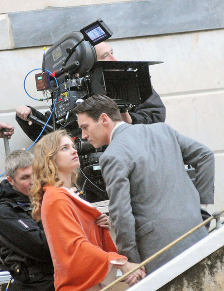"Jonathan Rhys Meyers and Natalia Vodianova are spotted on the set of the English-language adaptation of Albert Cohen's epic French tale ""Belle Du Seigneur"", shooting in the small Italian fishing village Camogli."