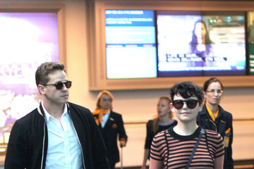 Josh Dallas Joshua Dallas and Ginnifer Goodwin Arrive in Vancouver