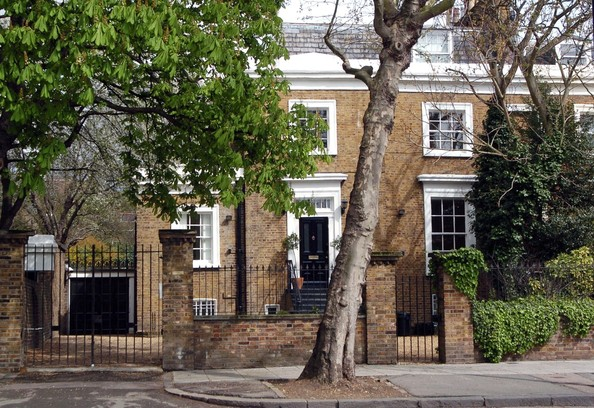 Jude Law In Jude Law Has Listed His Four Floor Edwardian