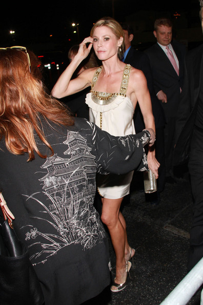 Julie bowen pictures linda evangelista at a hollywood charity event