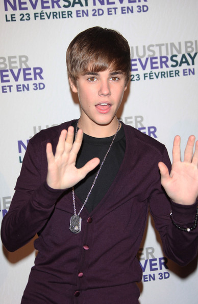 justin bieber never say never movie premiere. Justin Bieber Justin Bieber
