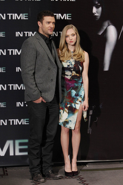 Justin Timberlake and Amanda Seyfried Promote 'In Time' []