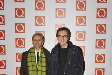 Karl Hyde The Maccabees  on the red carpet for the Q Awards at the Grosvenor House Hotel in London