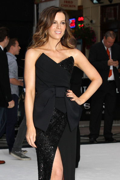 "Kate Beckinsale - Rebecca Ferdinando attends the UK premiere of ""Total Recall"" in London"