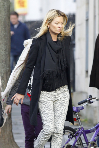 Kate Moss Kate Moss is spotted out and about with her daughter Lila in London.  .