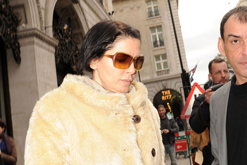 Kate Moss Sadie Frost Kate Moss and Sadie Frost in London