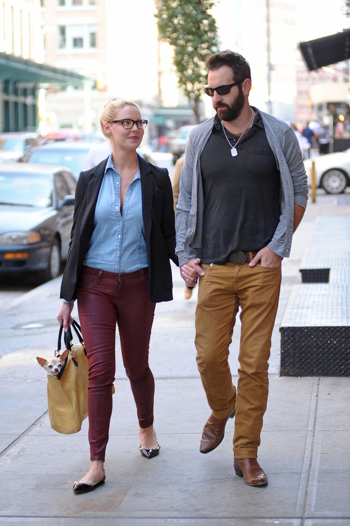 Josh Kelley In Katherine Heigl And Her Husband Grab Lunch ...
