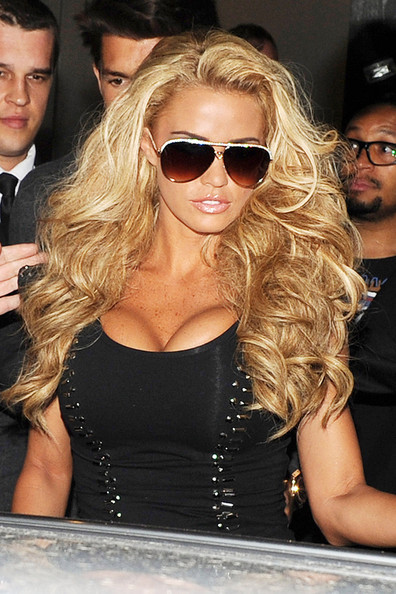 Katie Price - Katie Price in Mayfair Central London
