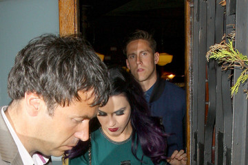 Katy Perry Robert Ackroyd Katy Perry Leaves the Dove Pub in London