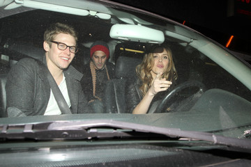 """Zach Roerig Kayla Ewell and Zach Roerig at """"Trousdale"""" in West Hollywood"""
