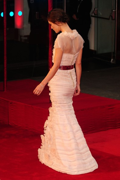"Keira Knightley - Keira Knightley arrives for the UK premiere of ""Anna Karenina"", held at London's Odeon Leicester Square"