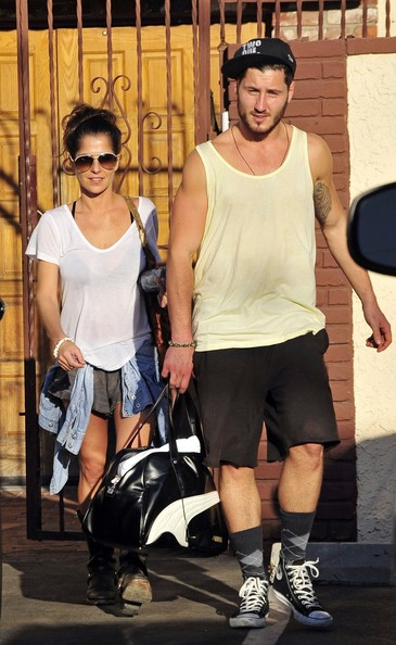 kelly monaco val chmerkovskiy kelly monaco and val chmerkovskiy seen