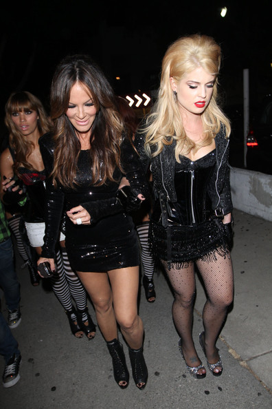Kelly Osbourne and Robin Antin at the Viper Rooms