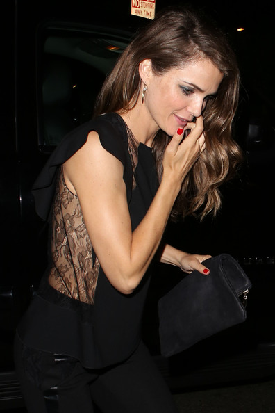 Keri Russell - Keri Russell Arrives at the Chateau Marmont
