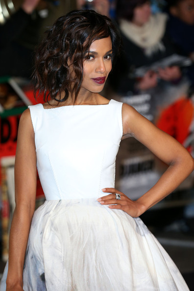 Kerry Washington - Kerry Washington and Jamie Foxx on the red carpet for the UK premiere of 'Django Unchained' in London