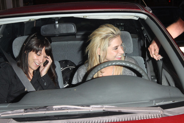 photo of Ke$ha  - car